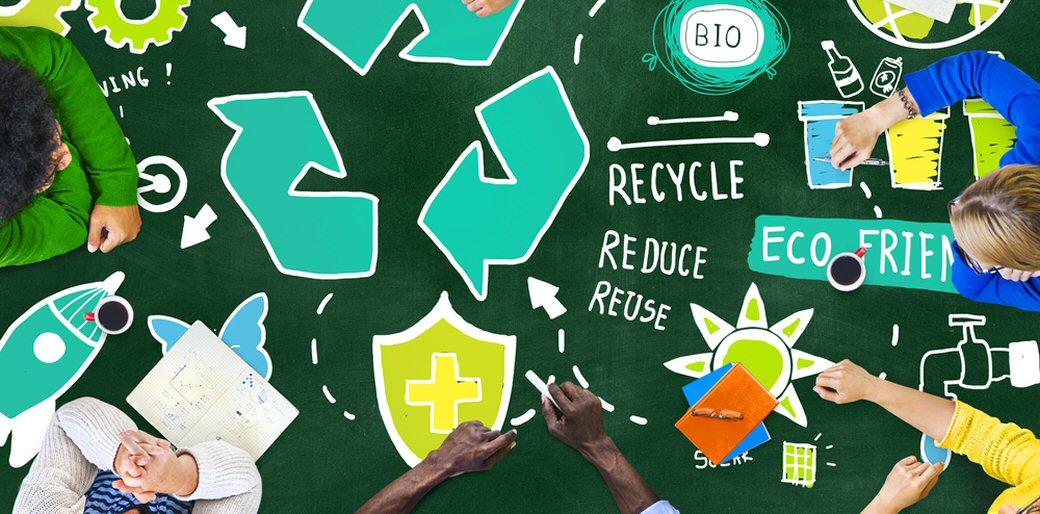 اقدام به جمع آوری زباله های قابل بازیافت